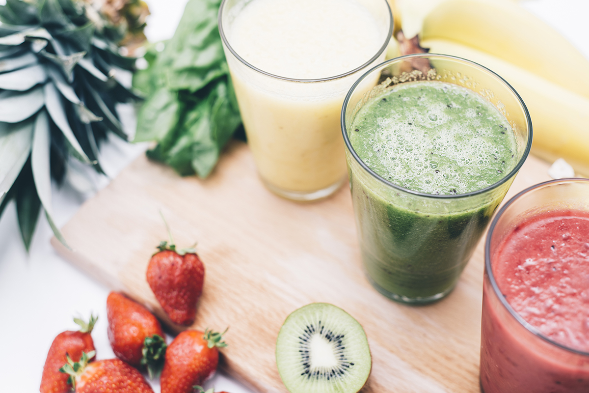 smoothies runners eat for breakfast