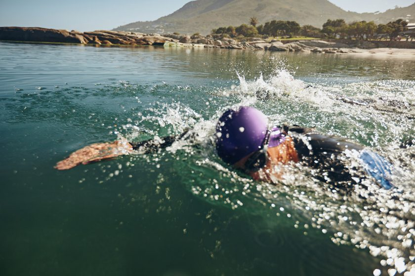 multisport triathlon swimming