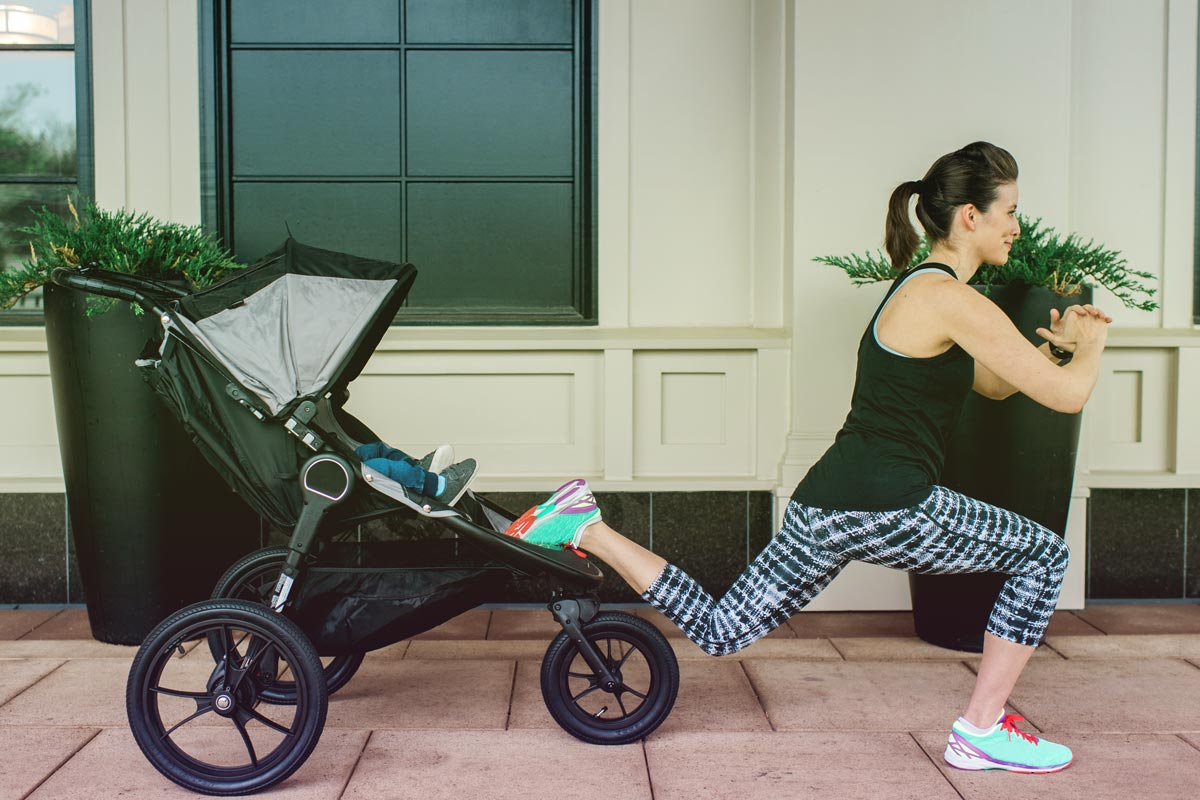 stroller workout with baby