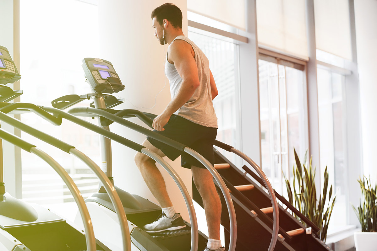 types of cardio stair climber