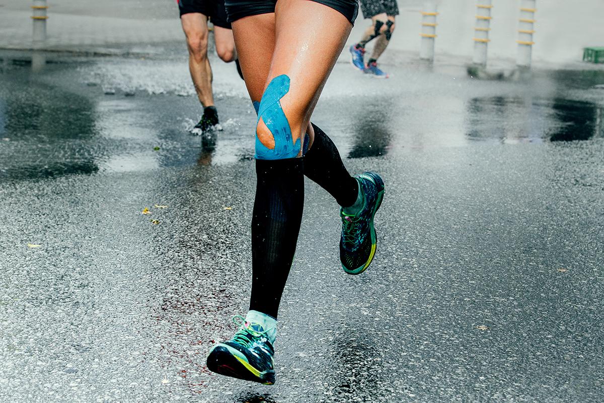 Running using K-tape