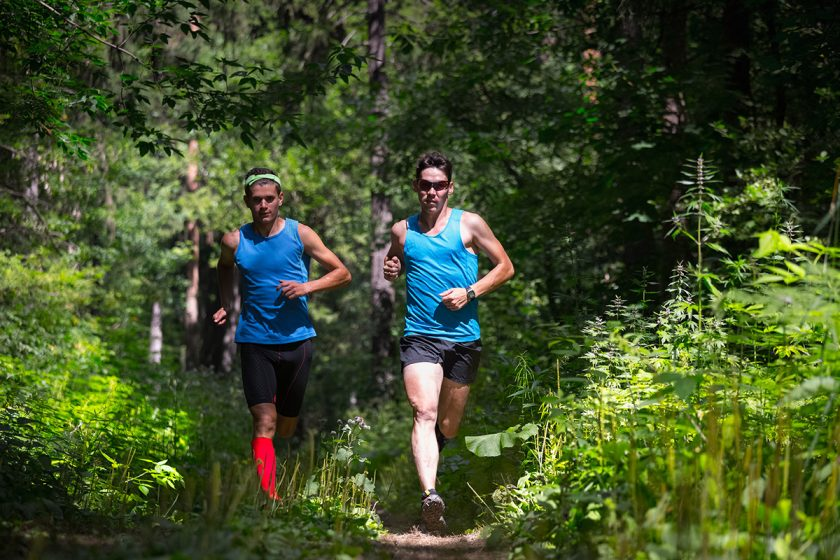outdoor running lyme disease