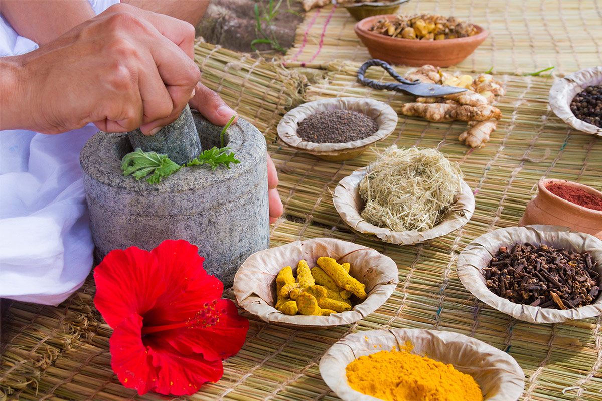 Spices used in Ayurveda