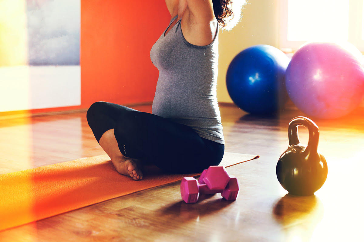 lift weights when pregnant