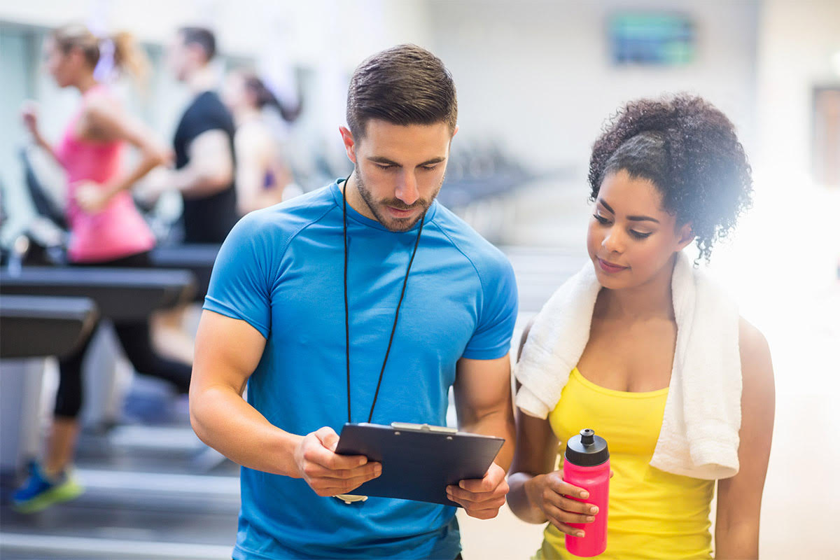 personal trainer make the gym effective
