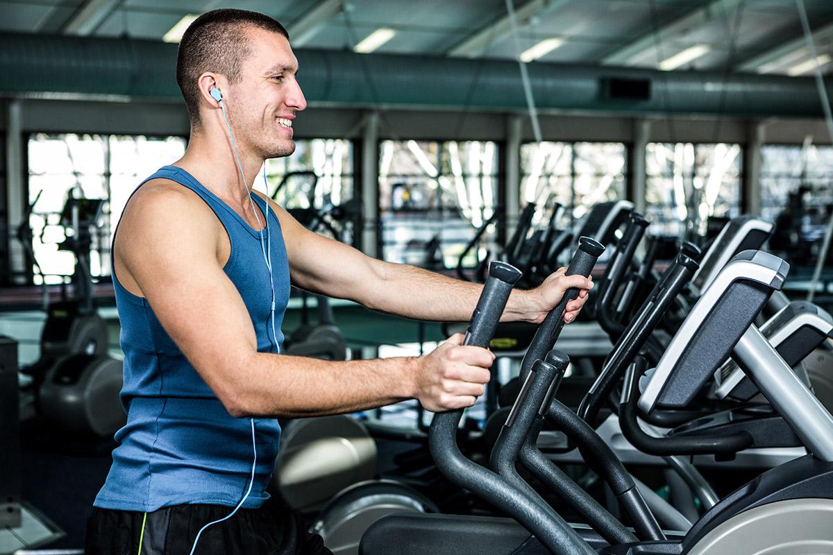 man make elliptical workouts harder