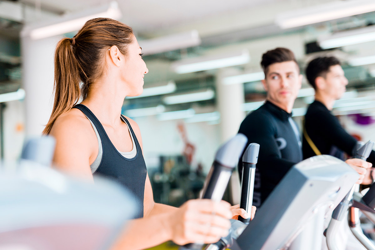 woman fights elliptical misconceptions