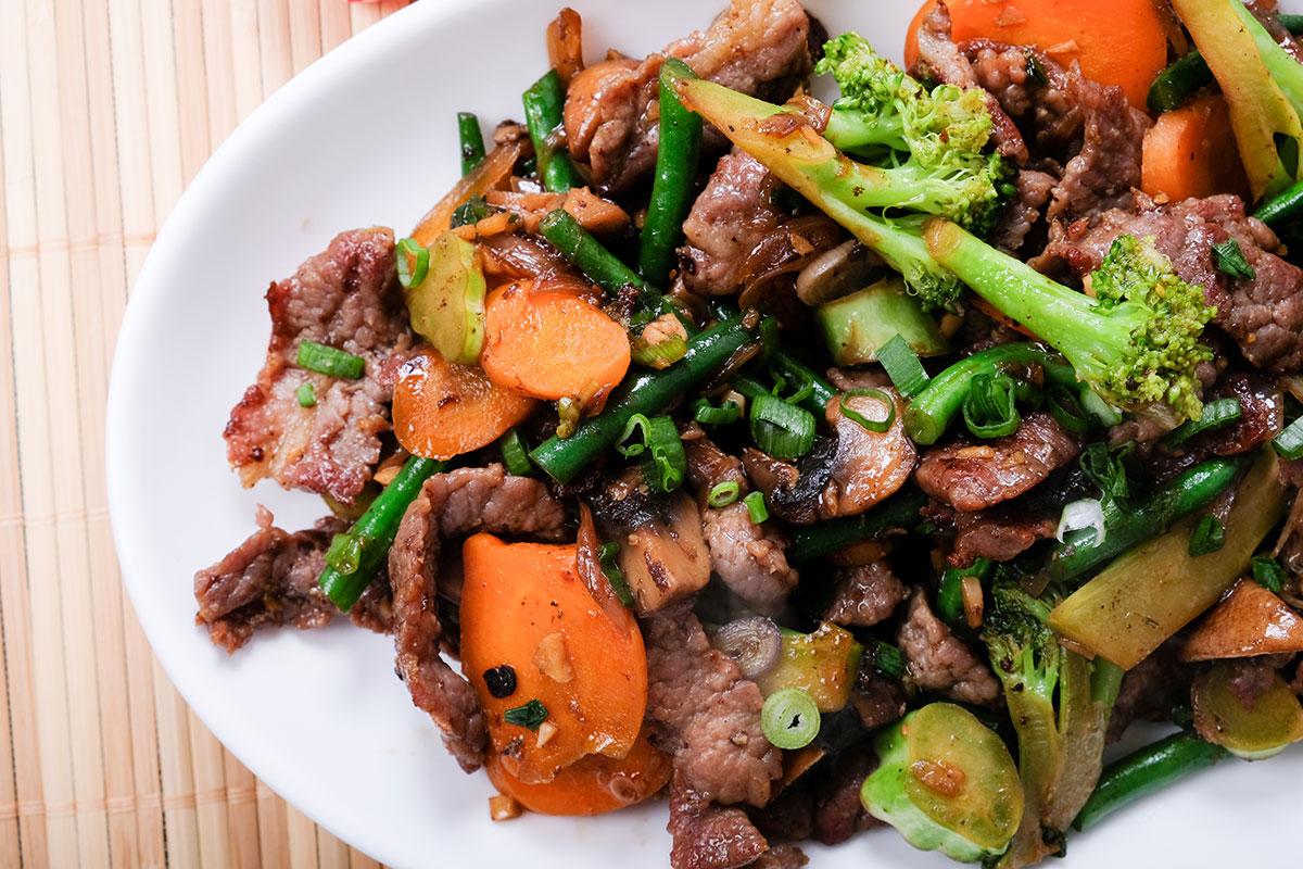 high-protein recipes stir fry