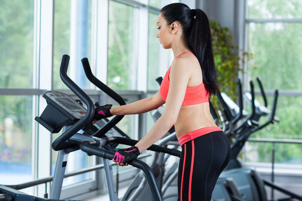 woman makes stair climber mistakes